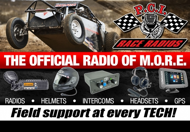 "PCI Race Radios ""The Official Radio of MORE"""